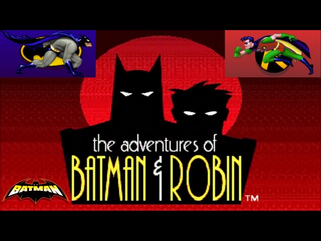 Adventures of Batman and Robin SEGA mega drive Genesis Приключения Бэтмена и Робина 032