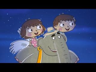 Новые развивающие МультФильмы - Малыши и Летающие Звери - Непослушный слон (44)