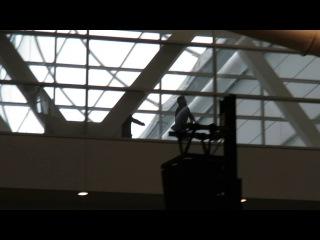 SPN Pitt Con 2016 - Jared & Jensen running to the breakfast panel