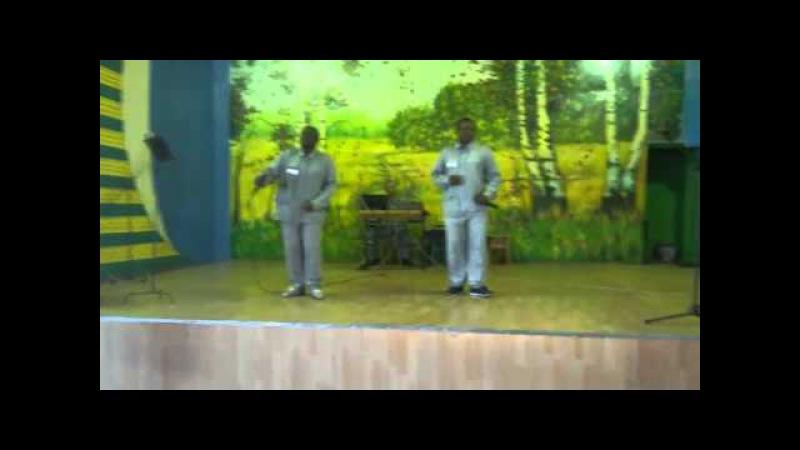 Камерунцы поют в колонии песню на казахском языке