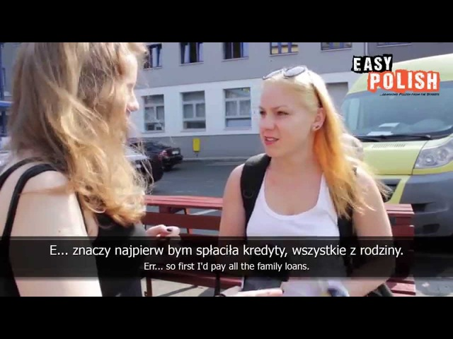Easy Polish 11 What would you buy if you won the lottery