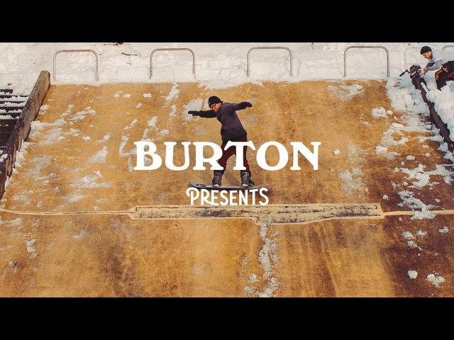Burton Presents 2016 Ethan Deiss and Zak Hale snowboarding