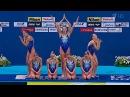 Российская сборная по синхронному плаванию продолжает триумфальное выступление на ЧМ - Первый канал