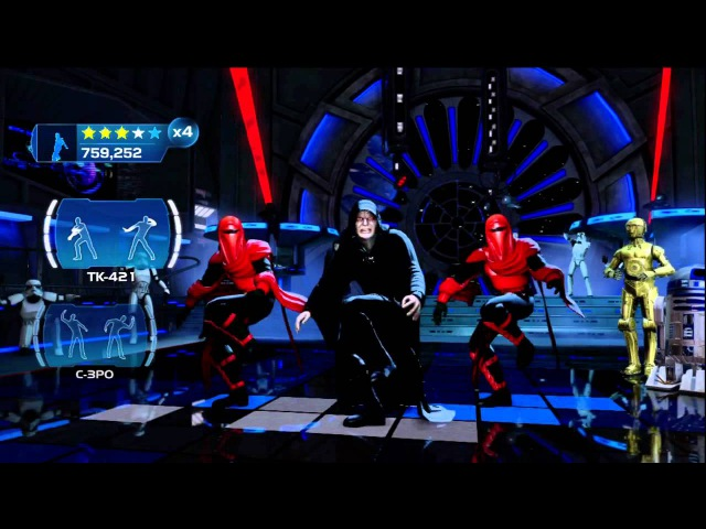 Kinect Star Wars: Galactic Dance Off Ghost n Stuff Extended