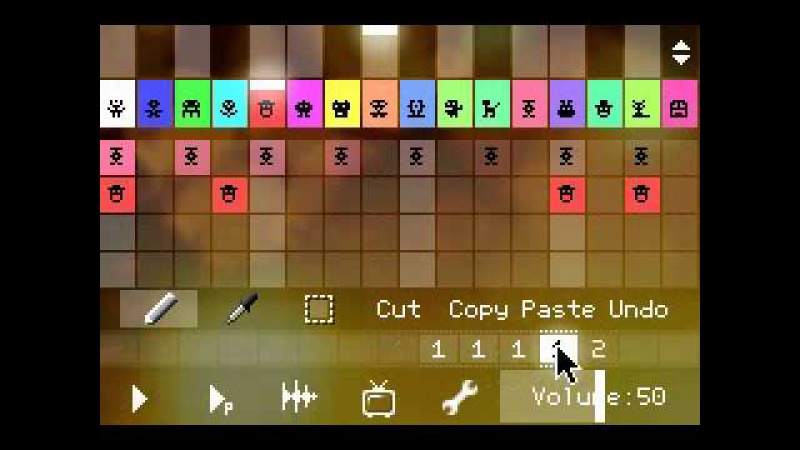 PixiTracker делаем 8 битный трек за 2 минуты 3