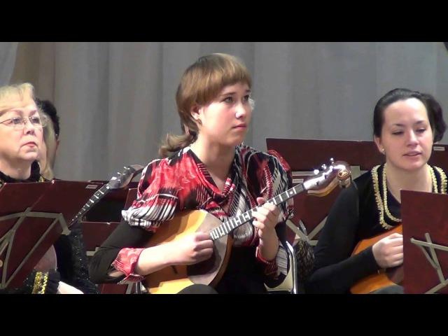 Сафина Марина домра сольный концерт FMvideostudio
