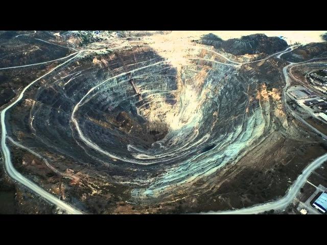 Сибайский карьер один из самых глубоких в мире