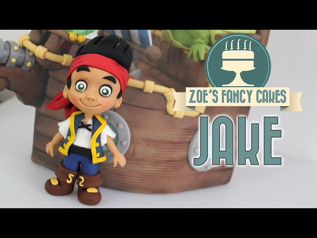 (Джейк и пираты Нетландии)JAKE AND THE NEVER LAND PIRATES CAKE TOPPER