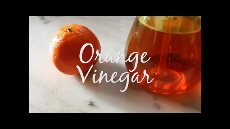 Orange Peel Vinegar Cleaner Vinaigre Orange Nettoyant