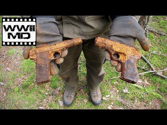 Вторая мировая война обнаружения металла немецкие пушки Восточный фронт битвы охотников за реликвий