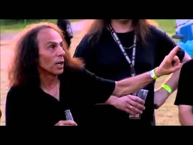 Ронни Джеймс Дио Dio о том кто придумал козу