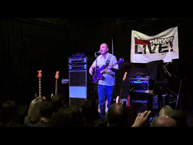 Bobby Vega Clinic at Bass Player Live
