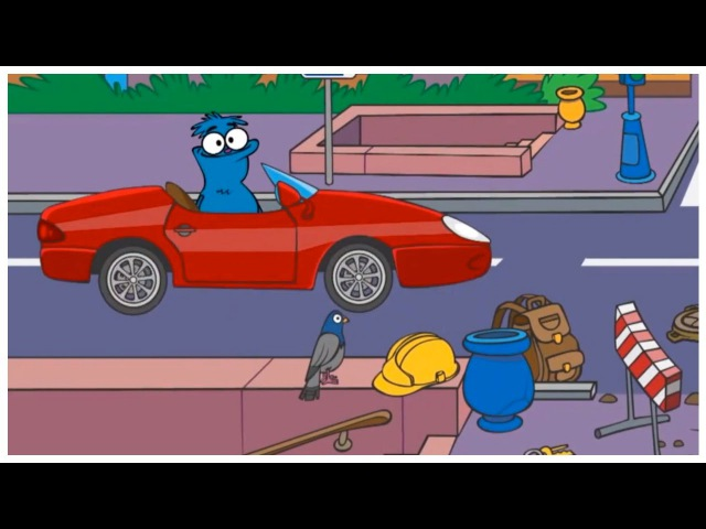 Kids English | Clown Choocha Funnyboys GARAGE - Build a Racing Car! Interactive Cartoon Games