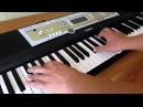 Обучение на синтезаторе Jasper Forks - River Flows In You (by Toffa Alimoff)