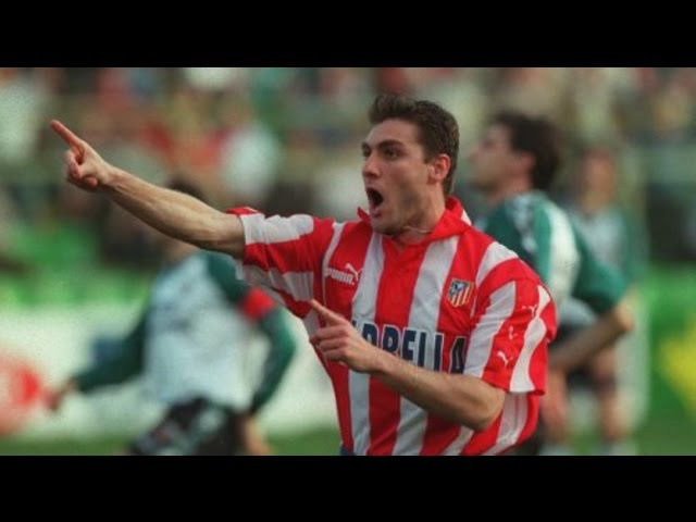 Christian Vieri (Atletico Madrid) - La Liga 1997/98 - 24 goals