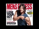 Meeting Norman Reedus from The Walking Dead at Men's Fitness Cover Shoot