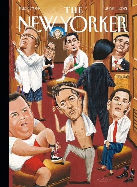 The New Yorker USA - June 1, 2015