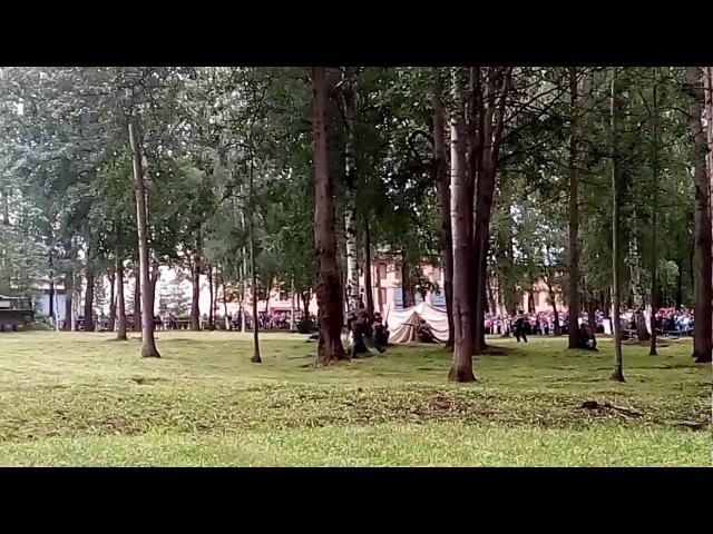 75-летие БТРЗ. Военно-историческая реконструкция