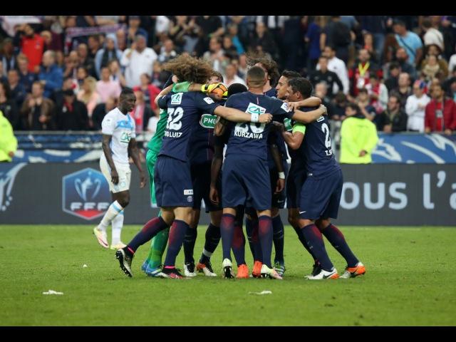 Coupe de France tous les buts de la finale OM PSG 2 4