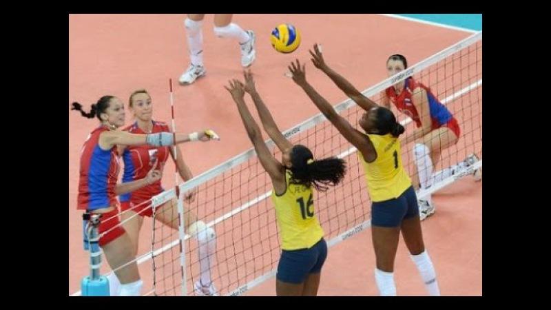 Олимпийские игры 2004, Афины, волейбол (volleyball), Россия-Бразилия, 3-2, 2 место, Гамова Е ...