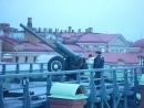 Нарышкинский бастион Петропавловская крепость Полуденный выстрел 19.11.2015