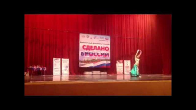 Выступление Кристины Гумаровой Школа восточных танцев KrisStyle