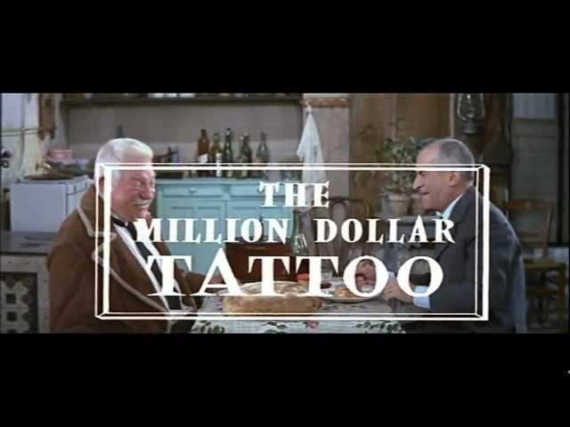 Louis de Funes et Jean Gabin 1968 Le Tatoue Original Promo
