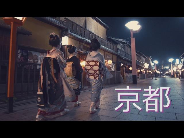 京都の夜動画/The Night Scene of Kyoto (SONY a7S2 4K Pilotfly H2 ジンバル)