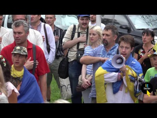 Автопробіг до Дня незалежності у Харкові