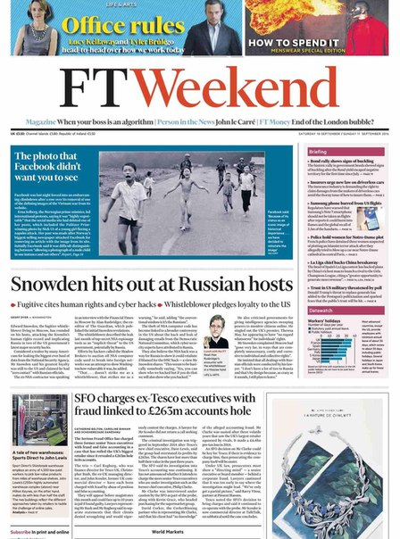 Financial Times UK  September 10 2016