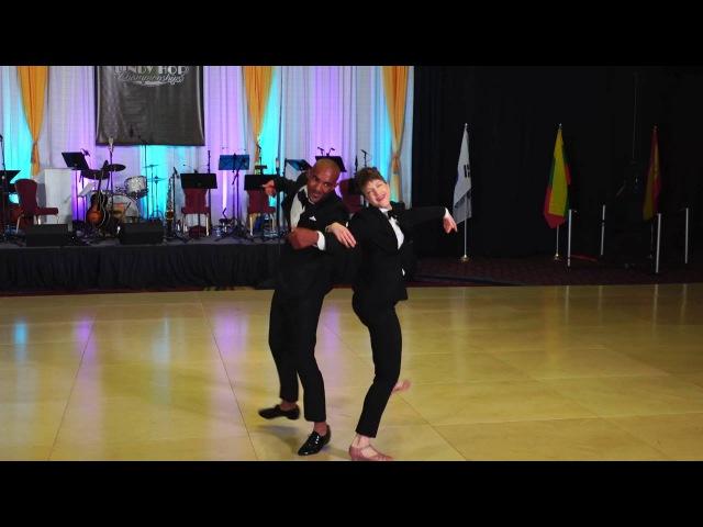 ILHC 2016 - Pro Classic - Remy Kouakou Kouame Ramona Staffeld (France US)