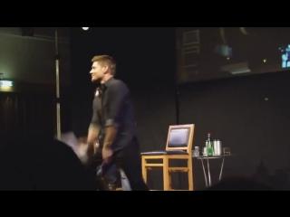 Дженсен Эклз Танцует Not Vine (Дин Винчестер Dean Winchester Jensen Ackles Сэм СемСверхъестественное