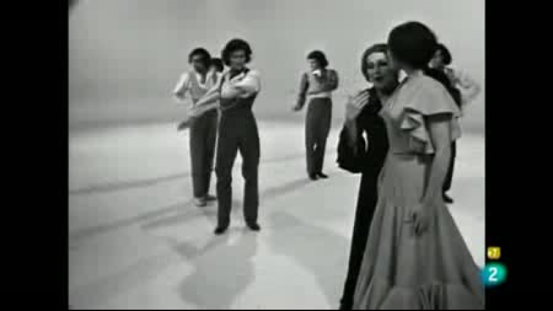 Кристина Ойос и Антонио Гадес 1971г