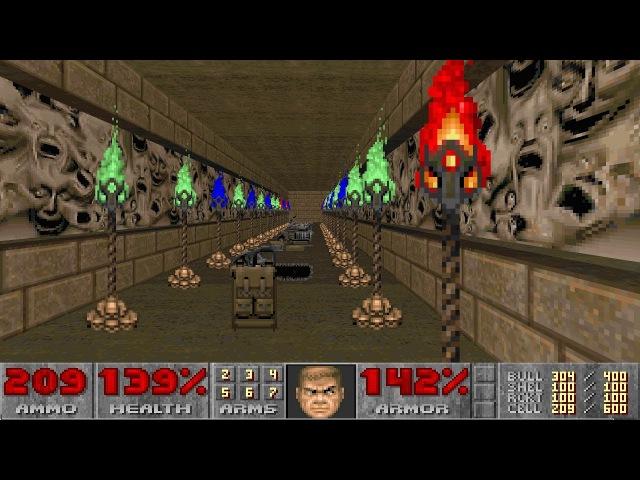 Final Doom: TNT Evilution - Nightmare! difficulty in 1:23:36