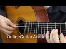 The Four Seasons Spring 2nd mvt solo classical guitar arrangement by Emre Sabuncuoglu