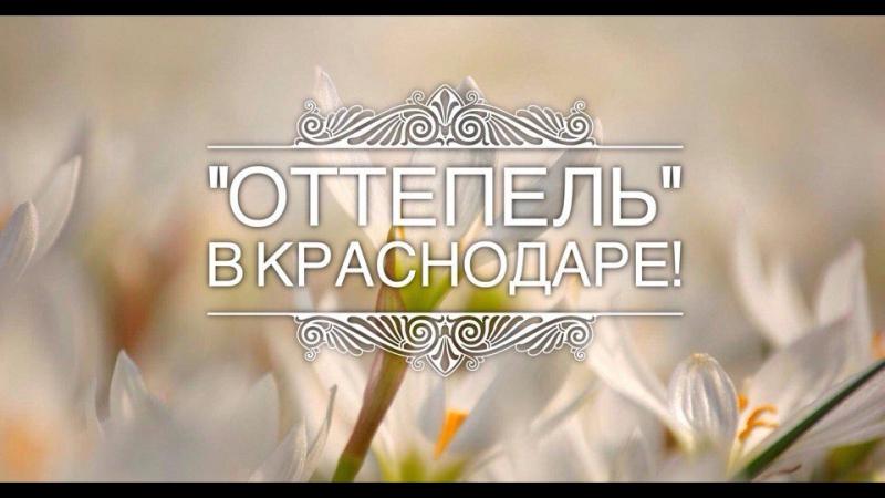 19 мая Оттепель в Краснодаре от сообщества Must Read