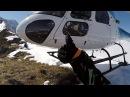 Heli-ski на Алтае.