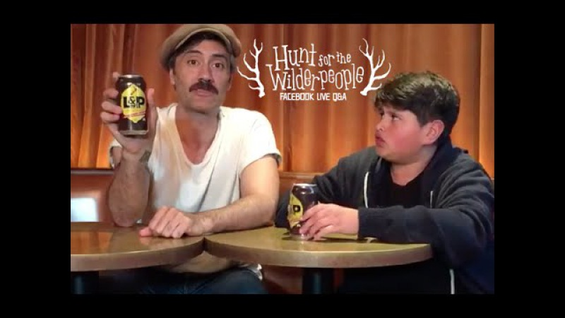 Hunt for the Wilderpeople - Facebook Live QA with Taika Waititi Julian Dennison