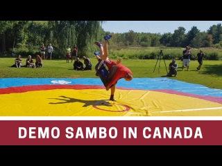 Sambo Demonstration in Canada