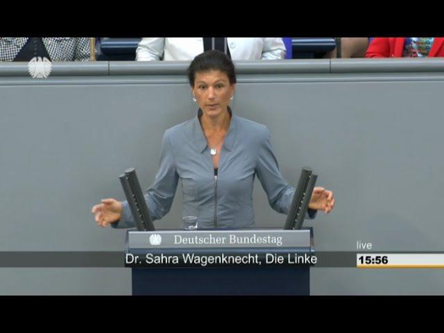 Das Lügenwort Freihandelsabkommen TTIP CETA Sahra Wagenknecht 11 05 2016 Bananenrepublik