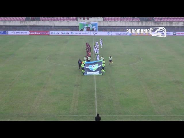 Pusamania TV Hilite Persipura vs Borneo FC Liga 1