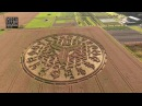 Crop Circles from the Air: Ansty, Nr Salisbury, Wiltshire. 12th August 2016