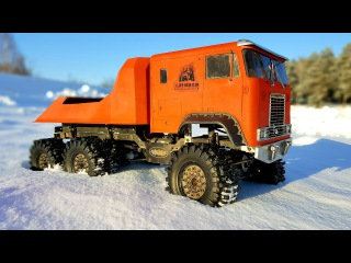 RC Truck OFF Road | Snow Adventures Globe Liner 6x6 (video 1 of 3) | RC Extreme Pictures