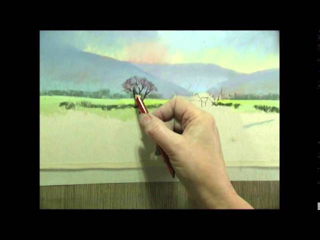 Painting Landscapes in Pastel by Jenny Keal