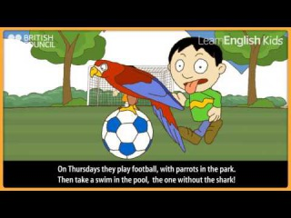 The twins week   Kids Stories   LearnEnglish Kids British Council