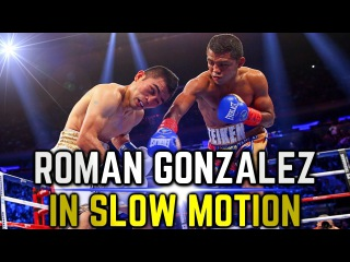 Roman Gonzalez in Slow Motion | Highlights and Knockouts