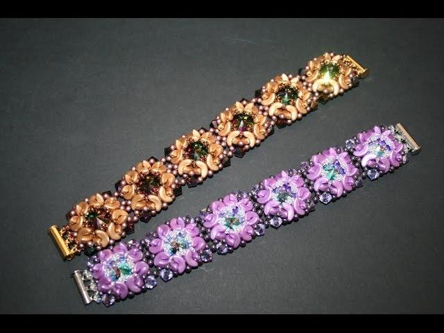 BRACCIALE SOGNO Rivoli Swarovski Perline Arcos® par Puca® Tutorial