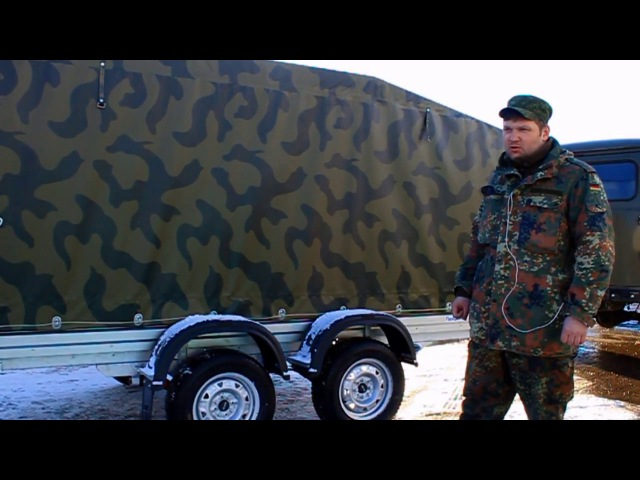 Отзыв о прицепе МЗСА 817732 к а м УАЗ Старынин Валентин из г Нарофоминск ЦЛП АРИВА