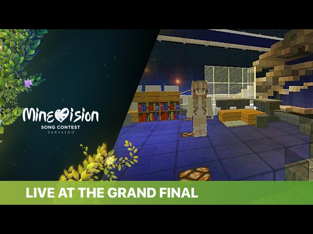 Blanche - Don't worry child - LIVE at the Grand Final of the 2041 Minevision Song Contest