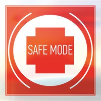 Логотип SAFE MODE / Electronic music blog & events